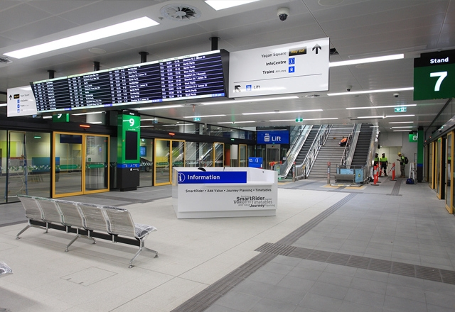 New Perth Busport opens for passengers